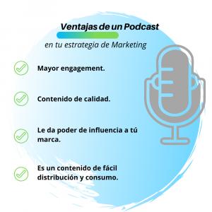 podcast en la estrategia marketing